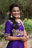 Actress Shraddha Srinath in Purple Chania Choli Cute Pics ~  Exclusive 43.jpg