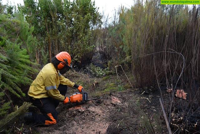 El Cabildo de La Palma da por Extinguido el incendio de Garafía