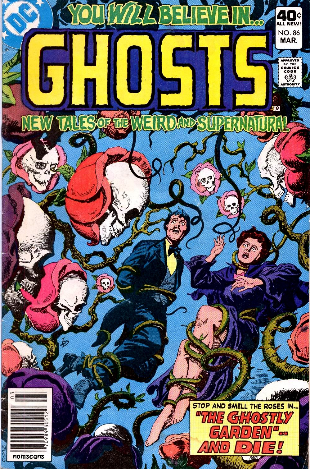 Read online Ghosts comic -  Issue #86 - 1