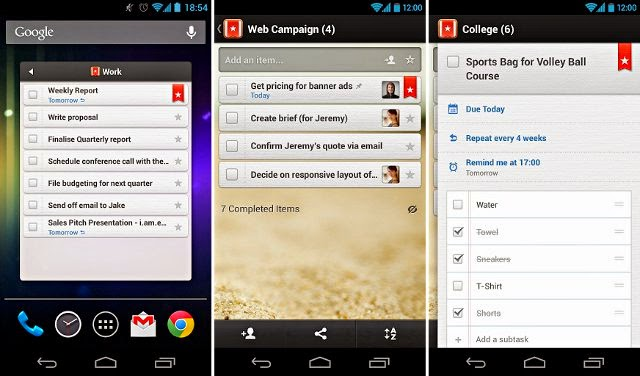 Wunderlist for Android Apk free download - Android Trend Today