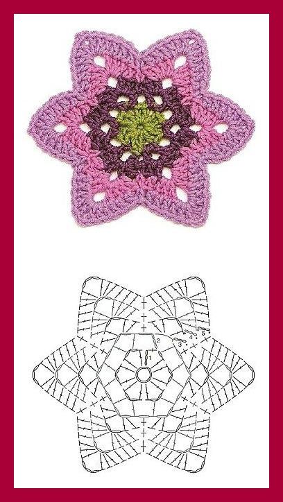 9 Patrones de Flores al Crochet - DIY | Paso a Paso