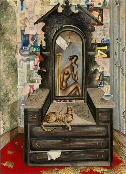 "Eldzier Cortor, ""Room No V"", 1948"