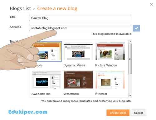 Cara membuat blog dan menghasilkan uang dari google adsense