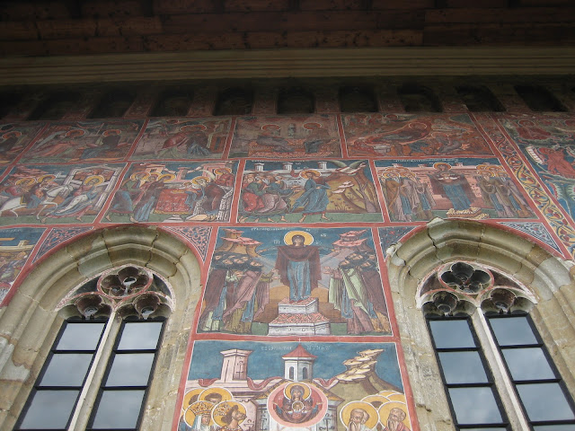 Monasterio Moldovita, muro pintado
