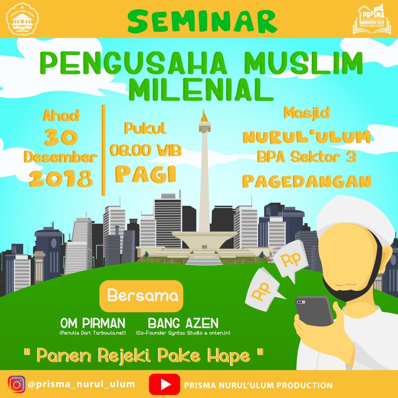 Seminar Panen Rejeki Pake Hape