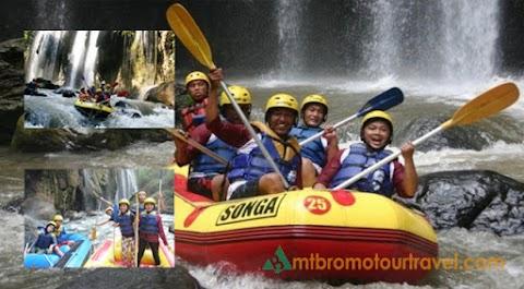 Songa Rafting One Day Tour at Pekalen River Probolinggo, East Java
