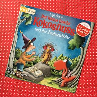 Hörbuch Der kleine Drache Kokosnuss und der Zauberschüler, Ingo Siegner, Philipp Schepmann, cbj audio, Rezension von Kinderbuchblog Familienbücherei