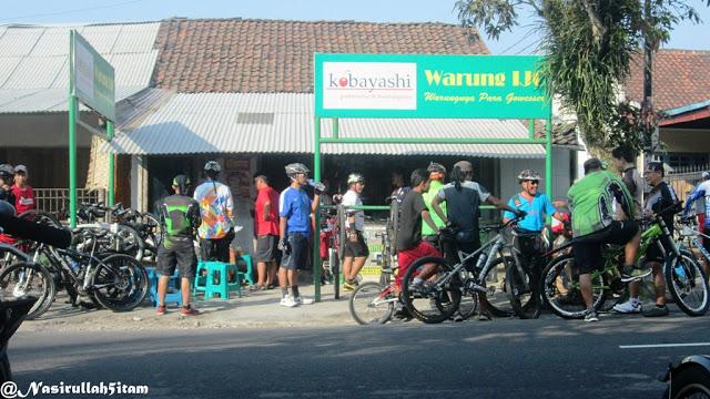 Sepuluh Lokasi yang sering dikunjungi pesepeda Jogja