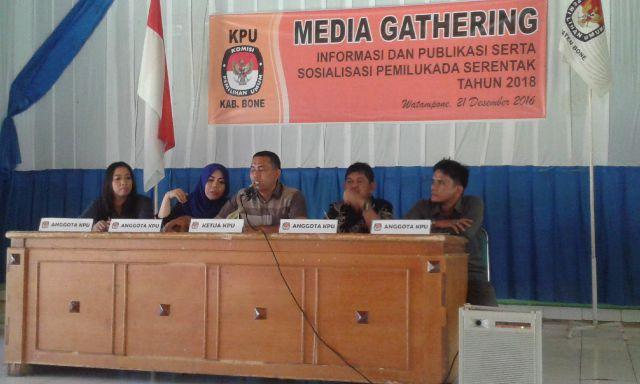 KPU Bone Habiskan Rp 74 Miliar Di Pilkada 2018