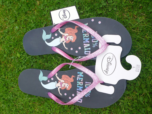 Primark Disney Little Mermaid Flip Flops