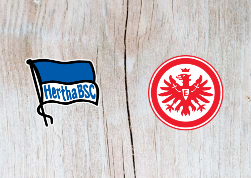 Hertha Berlin vs Eintracht Frankfurt - Highlights 08 December 2018