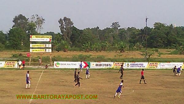 Adhyaksa FC Permalukan Bintang Putra FC, 4 Gol Tanpa Balas