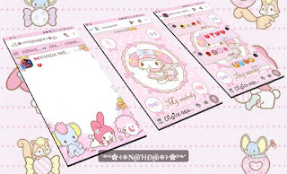 My Melody Theme For YOWhatsApp & Fouad WhatsApp By Nanda