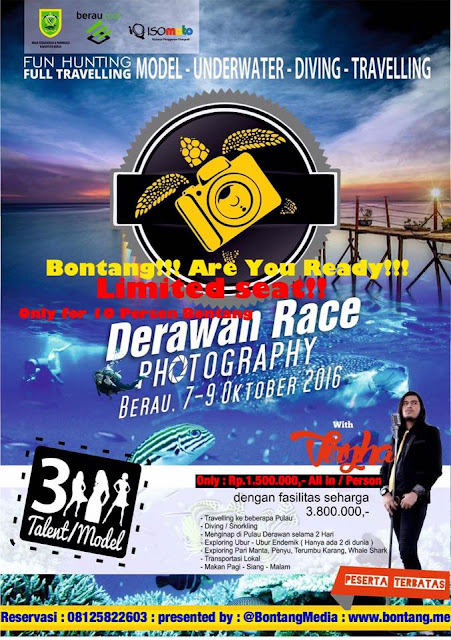 Derawan Race Photography Start From Bontang