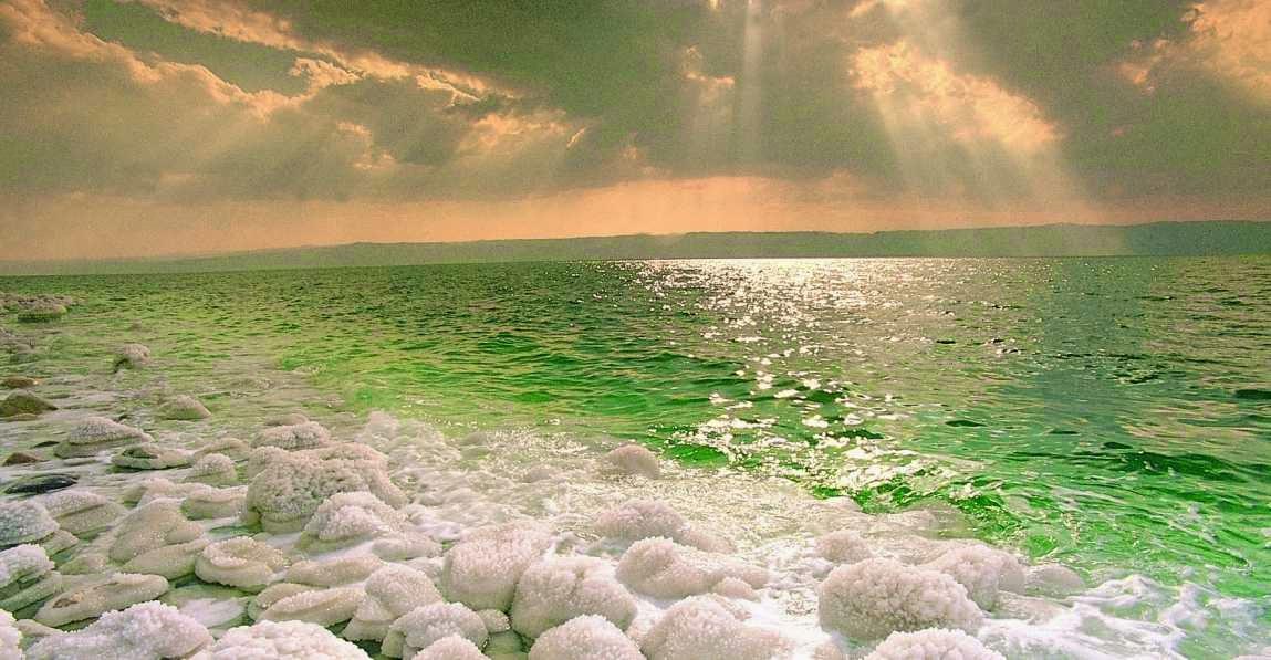 Mar Muerto, salinidad y lagos