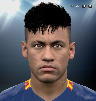 PES 2016 Neymar's New Hairstyle By Ammarexx7