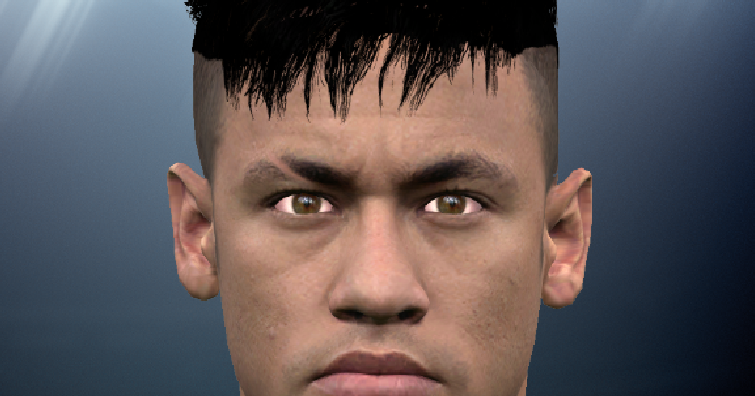 Excellent Pes Modif Pes 2016 Neymars New Hairstyle By Ammarexx7 Hairstyles For Men Maxibearus