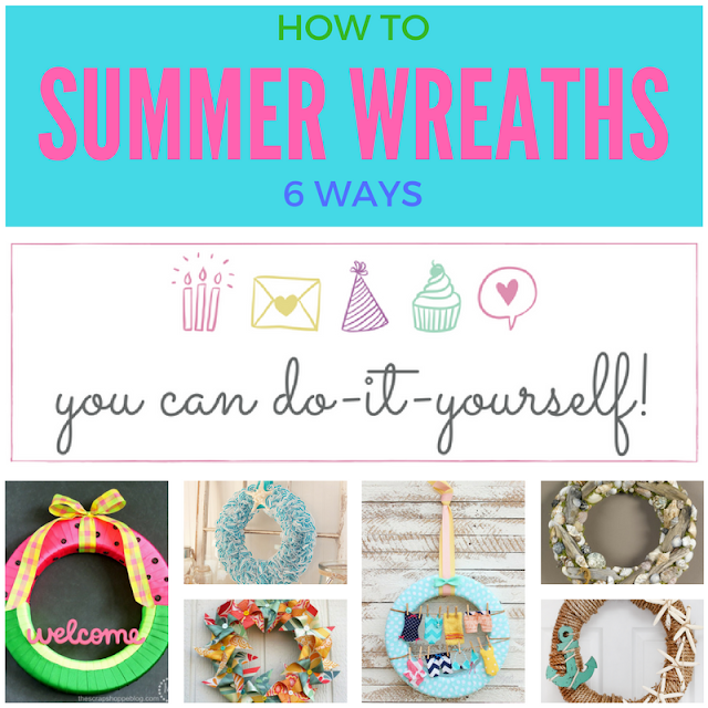 6 DIY Summer Wreaths