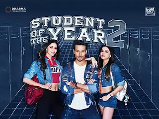 Download Student of the Year 2 (2019) Hindi Movie Bluray