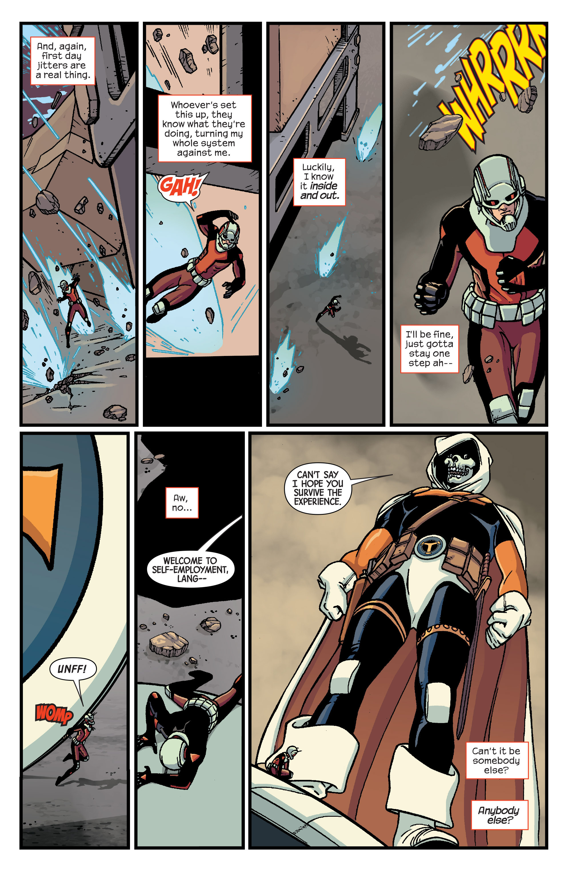 Read online Ant-Man comic -  Issue #3 - 10