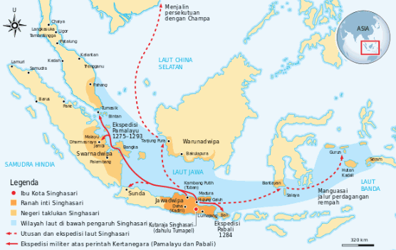 Perkembangan Kerajaan Singhasari pada masa pemerintahan Kertanegara