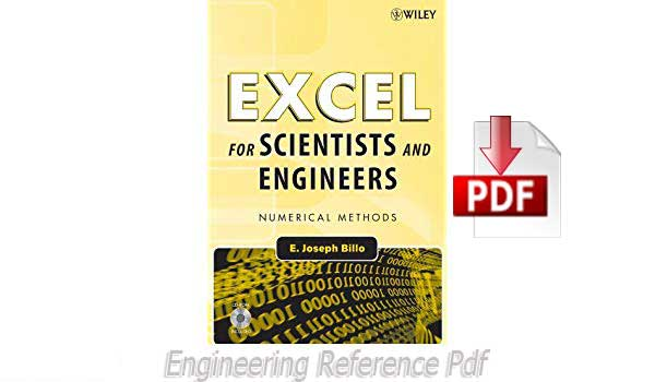 Download Excel for Scientists and Engineers Numerical Methods by E. Joseph Billo Free PDF