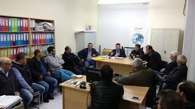 Συναντήσεις του βουλευτή Πιερίας του ΣΥΡΙΖΑ Στέργιου Καστόρη με αγρότες και συνεταιριστές στην Καρίτσα και το Κίτρος