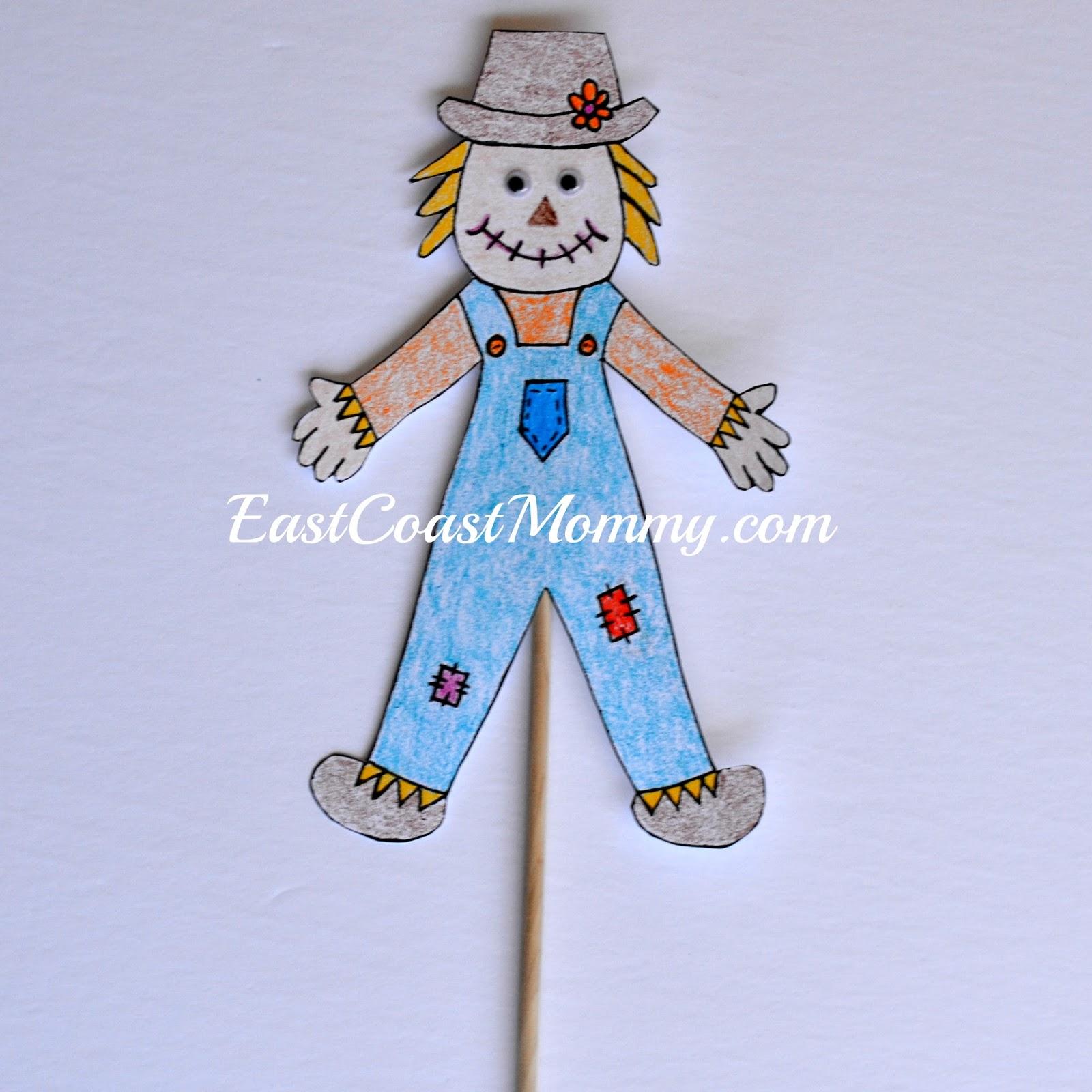 Printable Scarecrow Templates