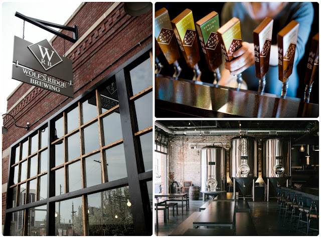 Comprised of a brewery, tap room, & a dining room, Wolf's Ridge Brewing in Columbus, Ohio is a must-do if you are looking for a fancy dinner out, but still want a good beer with your meal.