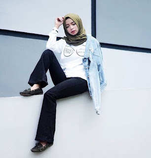 fashion hijab remaja tomboy