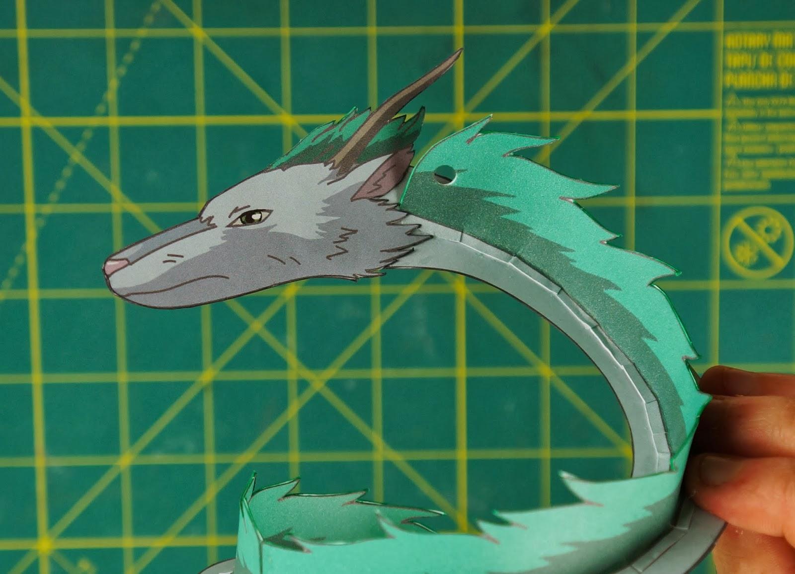 Otaku Crafts Dragon Haku Spirited Away Ornament