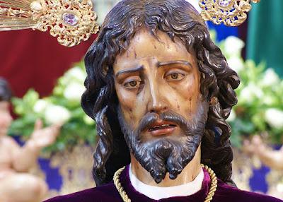 Titular de la Hermandad de Santa Genoveva del Tiro de Línea en Sevilla