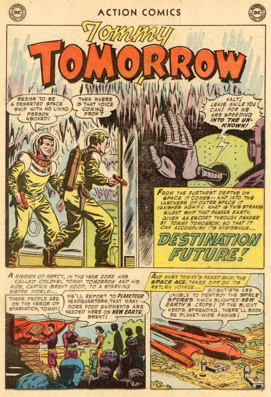 Read online Action Comics (1938) comic -  Issue #206 - 17