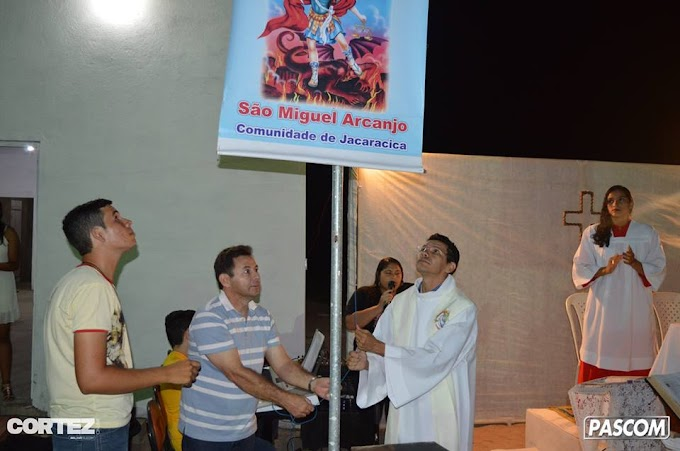 ABERTURA DA FESTA DE SÃO MIGUEL ARCANJO, PADROEIRO DE JACARACICA