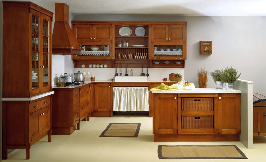decoracao cozinha rustica : Inspire-se numa cozinha r?stica ~ ?s nove em ponto