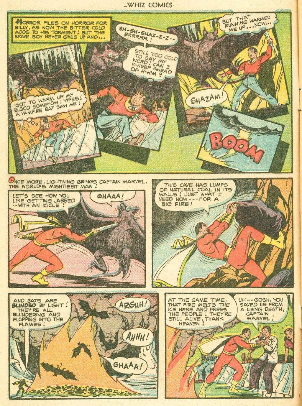 WHIZ Comics #155 #156 - English 8