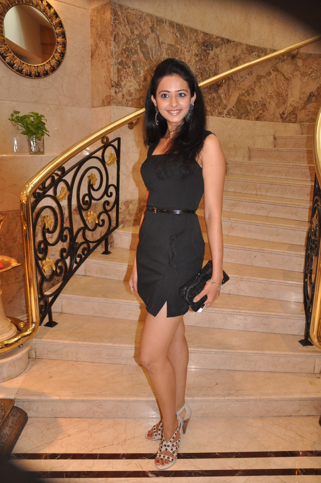 Rakul Preet Singh In Black Dress