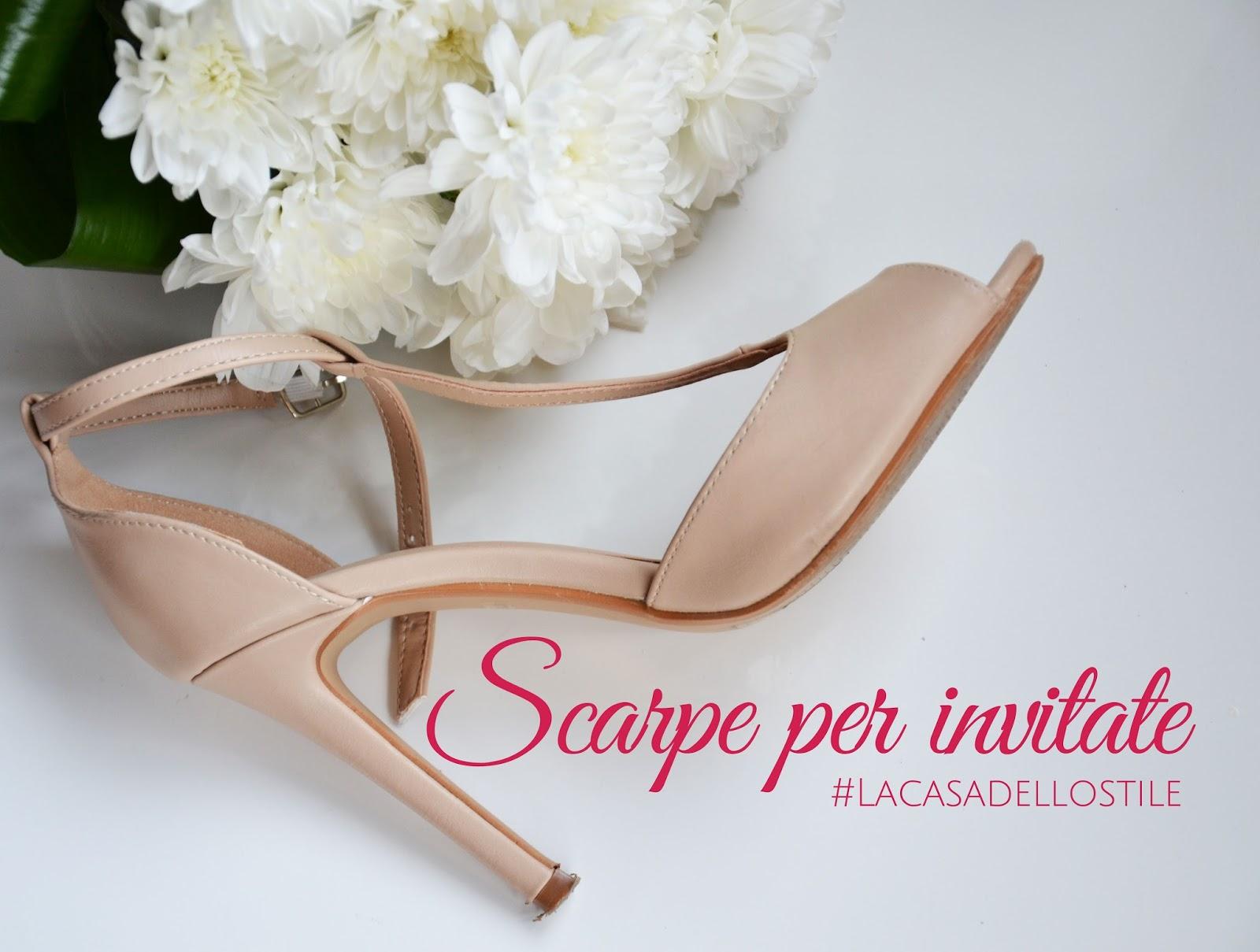 Los Angeles acheter populaire sortie en ligne Matrimonio: scarpe per le invitate - La casa dello stile