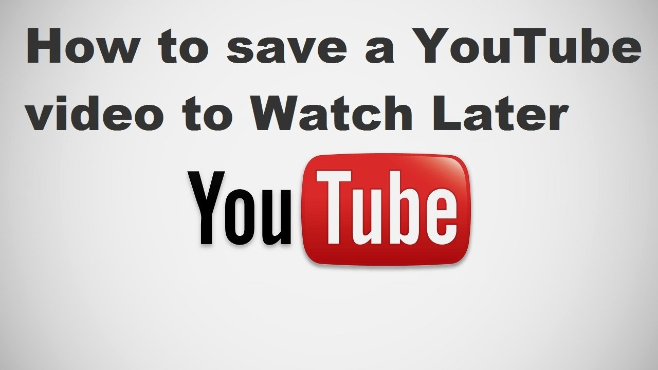 How to download youtube videos and watch later or offline
