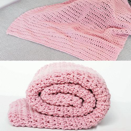 Simple Crochet Blanket - Free Pattern