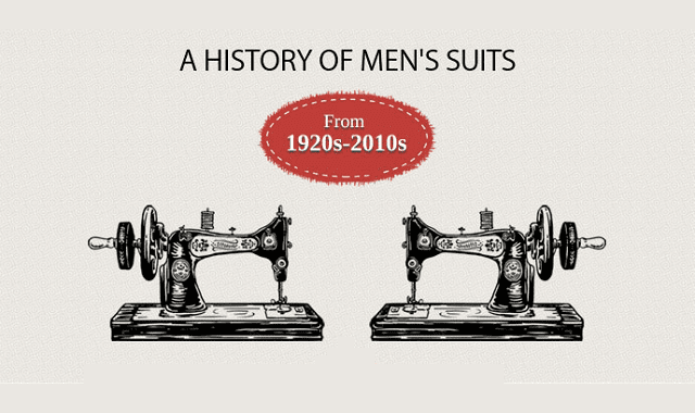 History of Men's Suits And Fashion Trends - 1920 to 2010