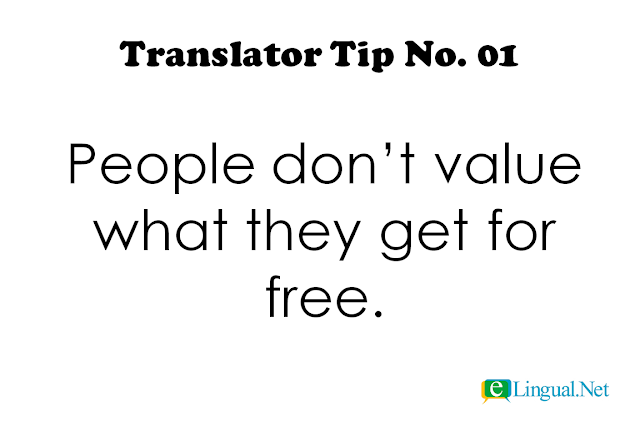 Tips for Freelance Professional Translators | www.elingual.net