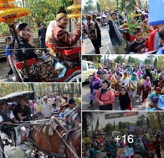 Acara Mapag Sri Desa Kondang Sari Cirebon