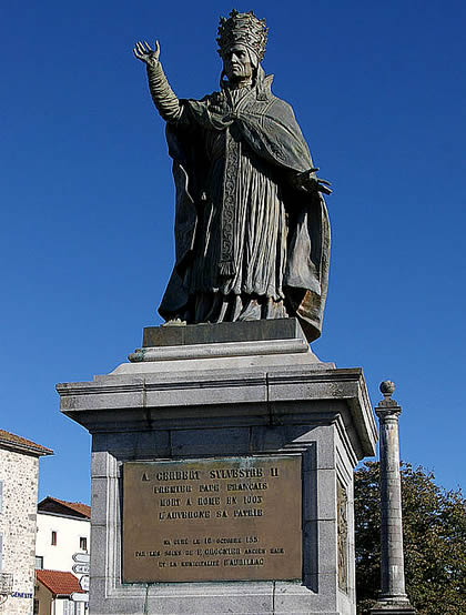 Sylvester II statue