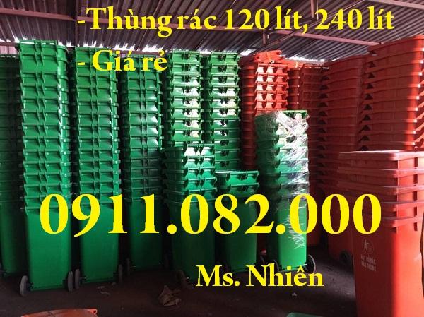 Thùng rác giá rẻ, thùng rác y tế, thùng rác 120L 240L giá sỉ lẻ- 0911082000 - 224894