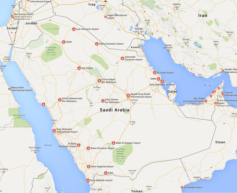 Saudi Arabia Airports