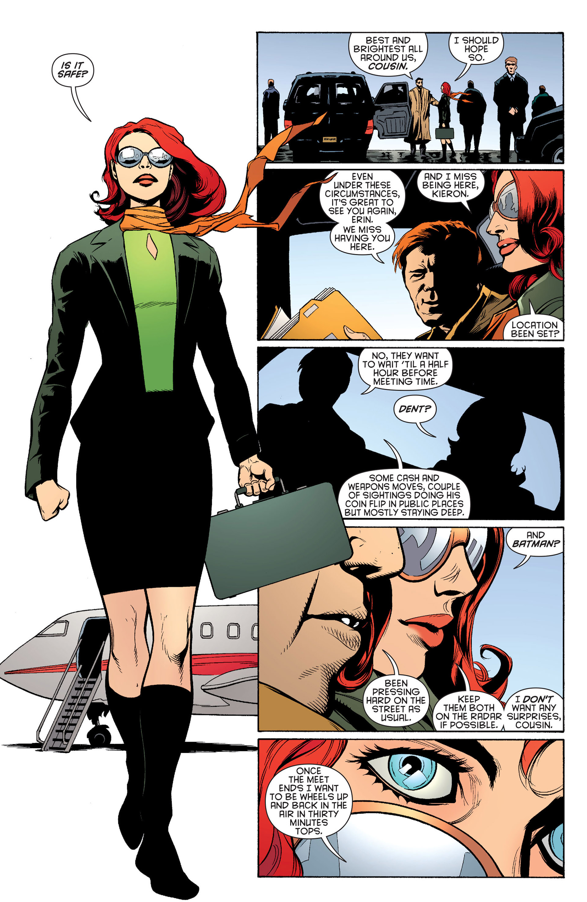 Read online Batman and Robin (2011) comic -  Issue #24 - Batman and Two-Face - 7