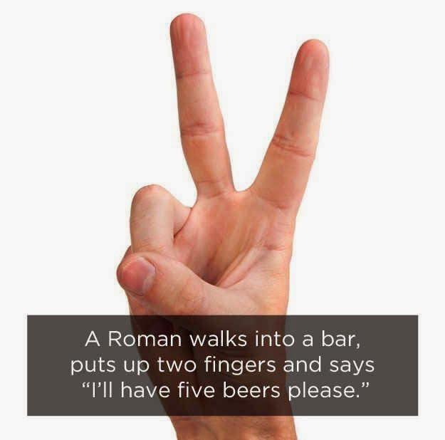 Humor matematika romawi