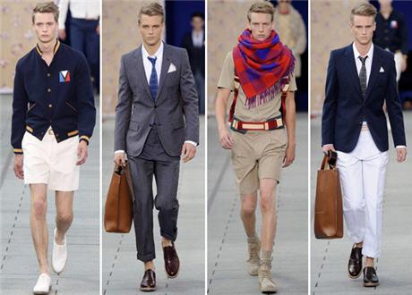 Designer Clothing: Men's Fashion Trends 2012