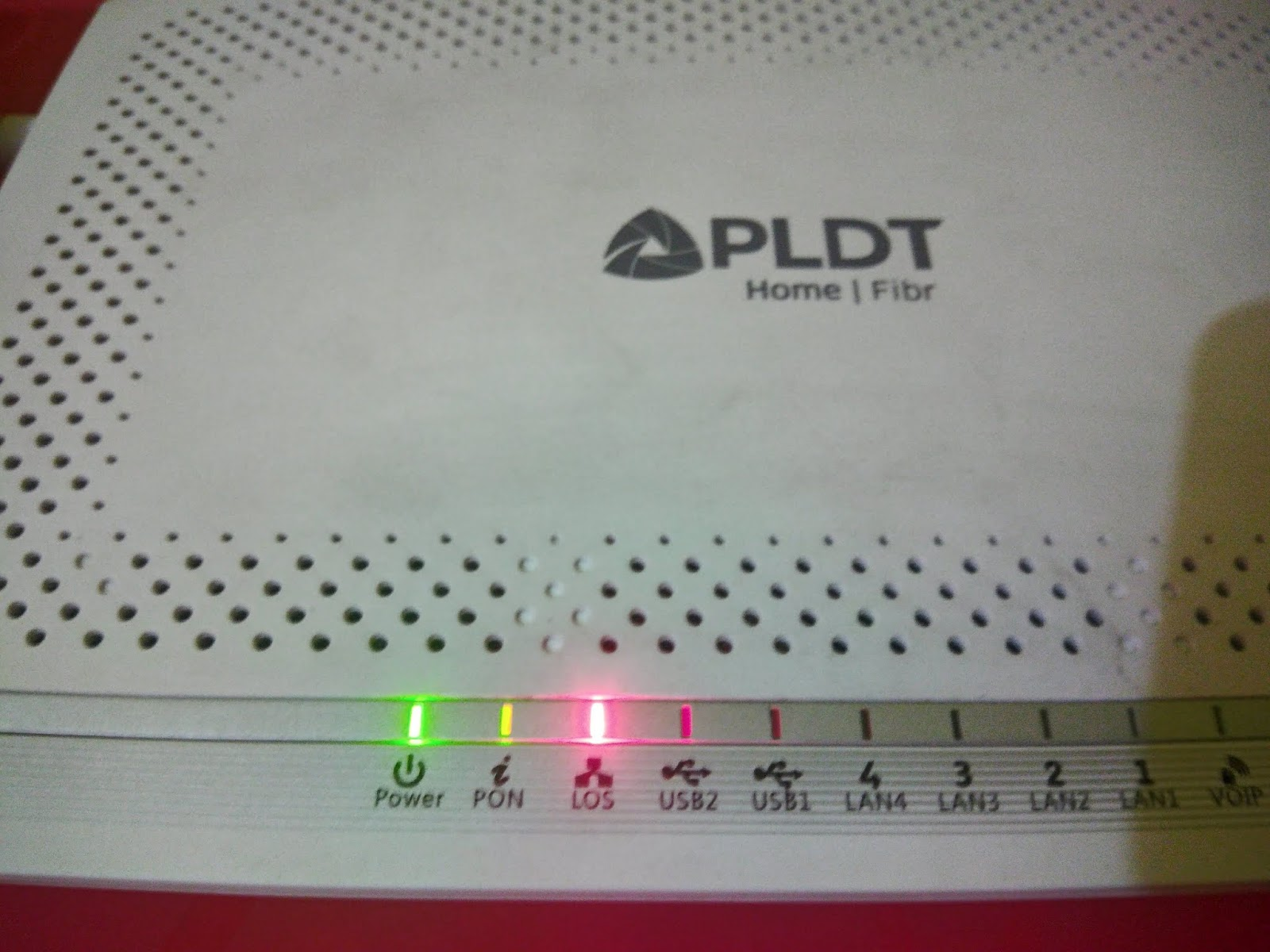 Outage report pldt